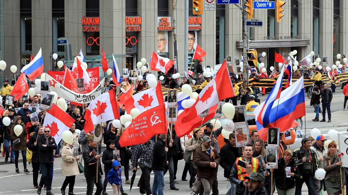 Бессмертный полк в Торонто (Канада), 2017 год