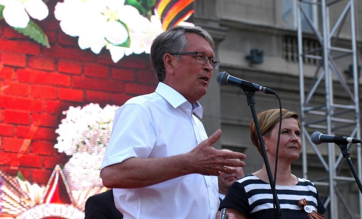 Выступление Посла России в Сербии А.В.Чепурина