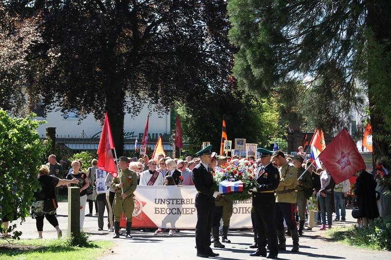 Бессмертный полк в Кёльне (Германия), 6 мая 2018 года