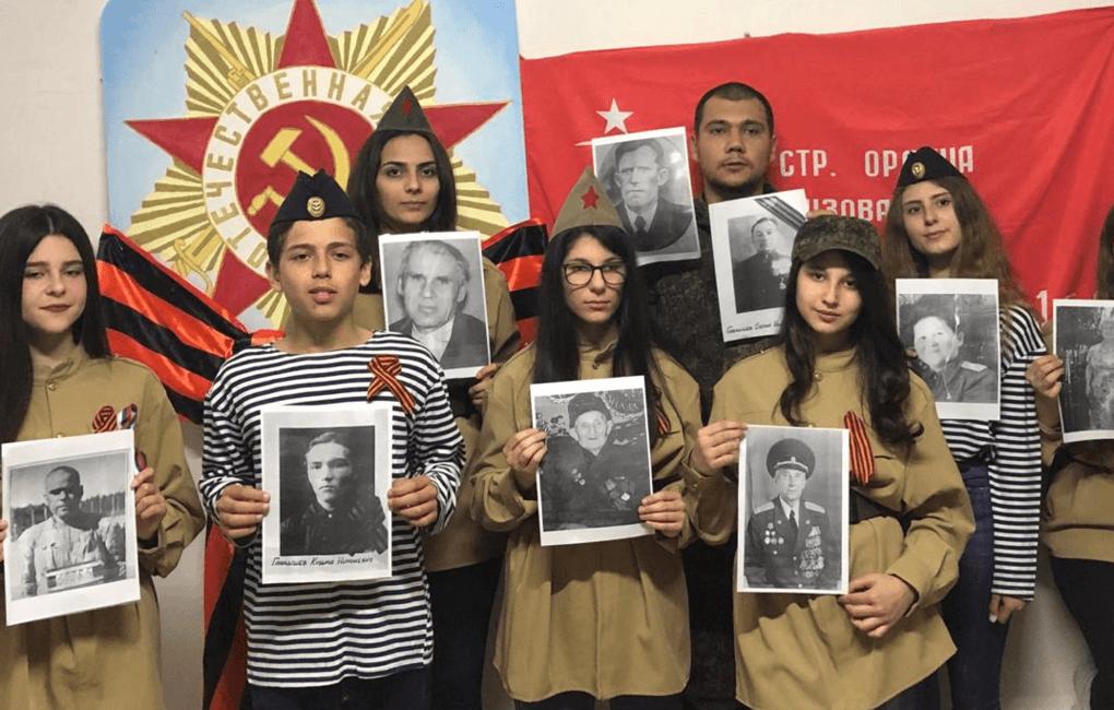 """В Тартусе прошло шествие """"Бессмертного полка"""""""