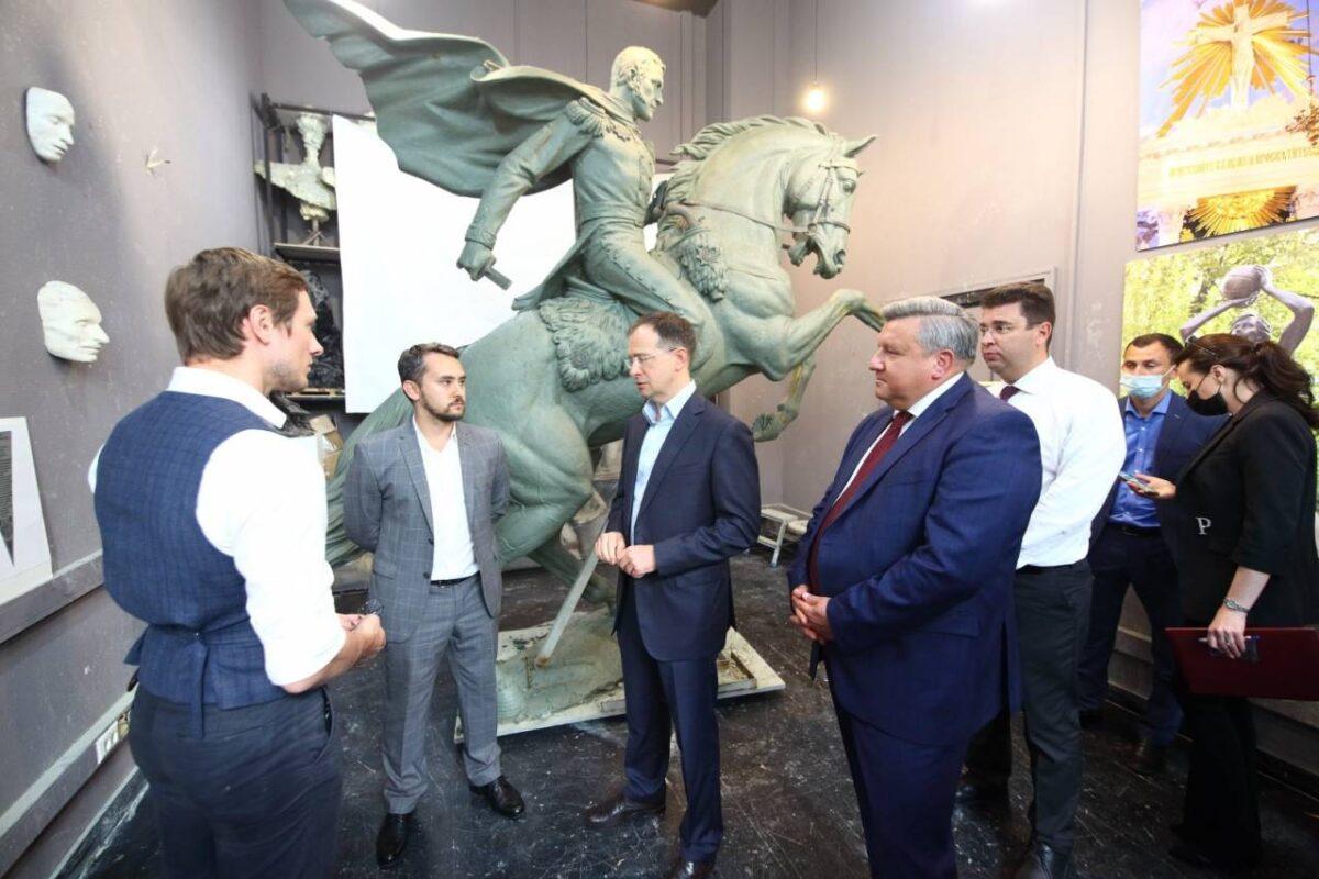 Мединский сообщил, что в Феодосии установят памятник генералу Петру Котляревскому