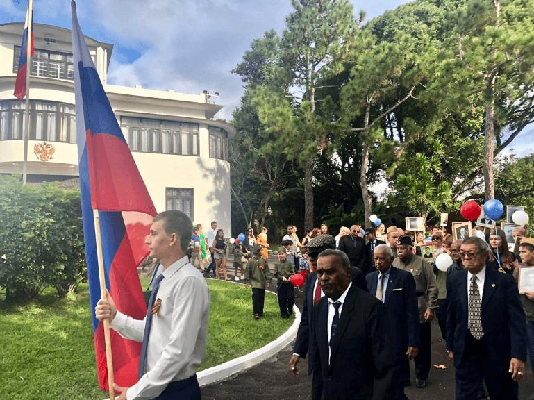 «Бессмертный полк» на Маврикии