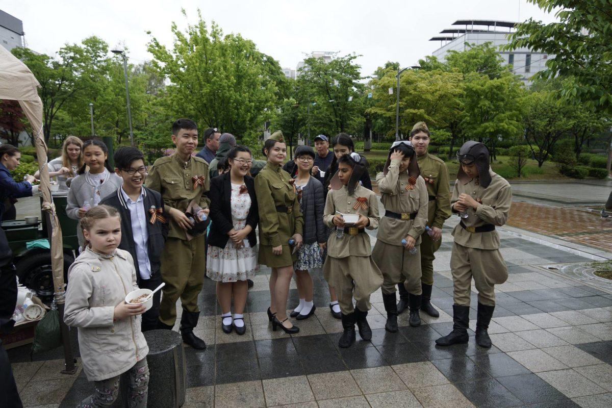 Бессмертный полк в Сеуле (Южная Корея), 6 мая 2018 года