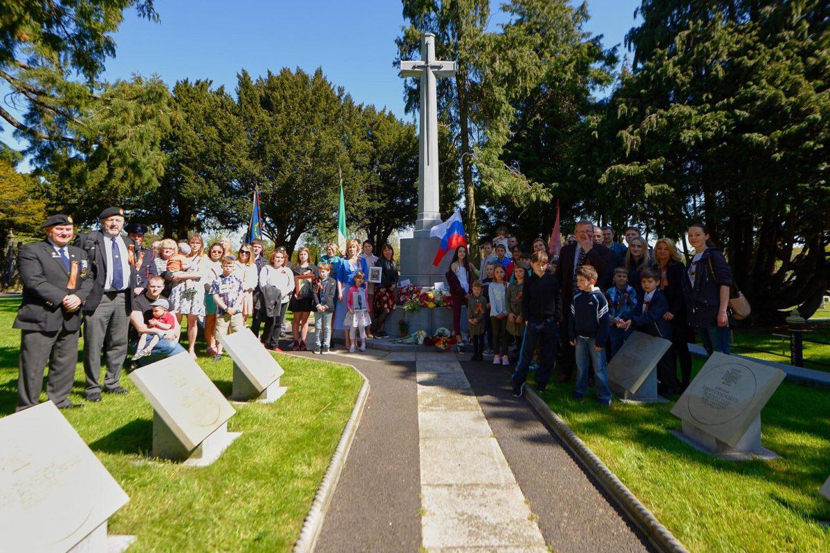 В Дублине у мемориального комплекса Glasnevin Cemetery состоялась торжественная церемония, посвящённая памяти участников Второй мировой войны