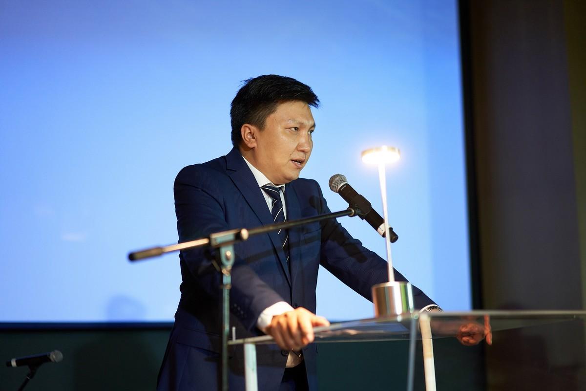 Генеральный консул Киргизии в Дубае и северных эмиратах Айбек Маматбеков
