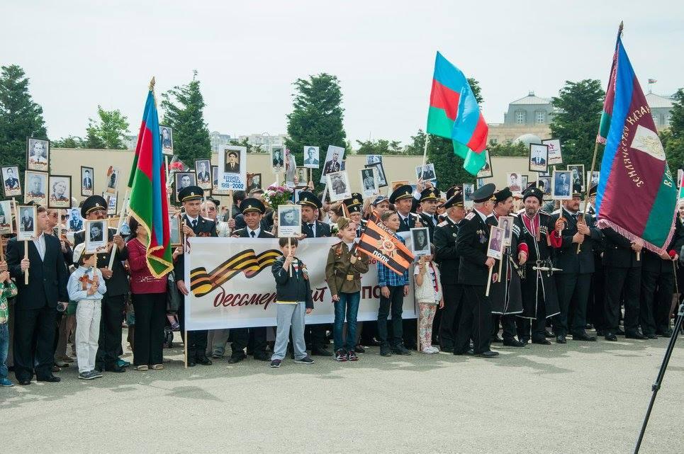 Бессмертный полк в Баку (Азербайджан), 2017 год
