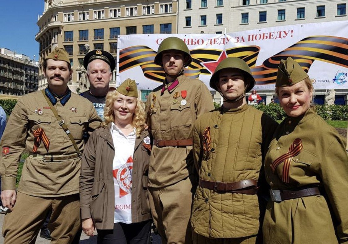Бессмертный полк в пятый раз прошагал по Барселоне