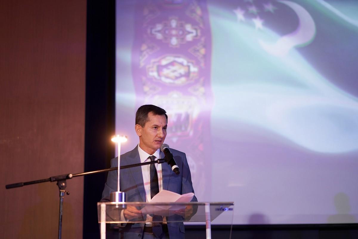 Сардар Мамит Караджаев, чрезвычайный и полномочный посол Республики Туркменистан в ОАЭ