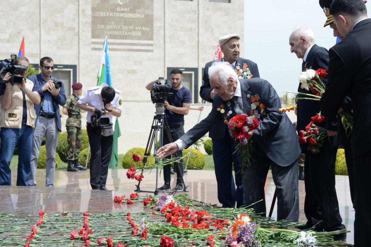 Бессмертный полк в Баку (Азербайджан), 9 мая 2018 года