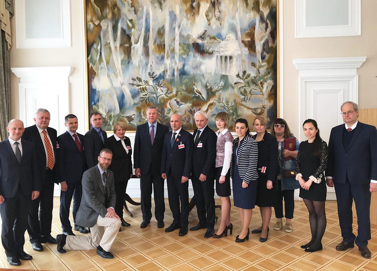«Бессмертный полк» на приеме в Постпредстве РФ при ООН в Женеве