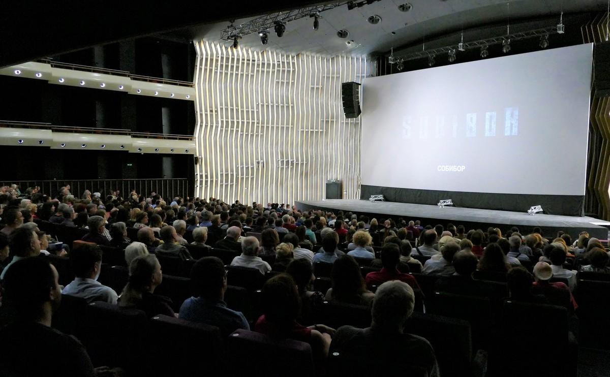 Премьерный показ художественного фильма «Собибор»
