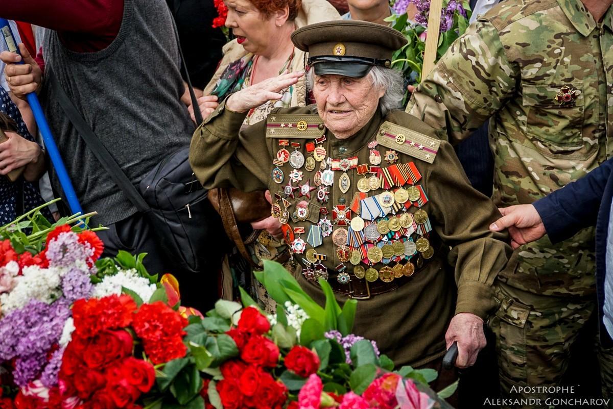 Бессмертный полк в Киеве (Украина), 2018 год