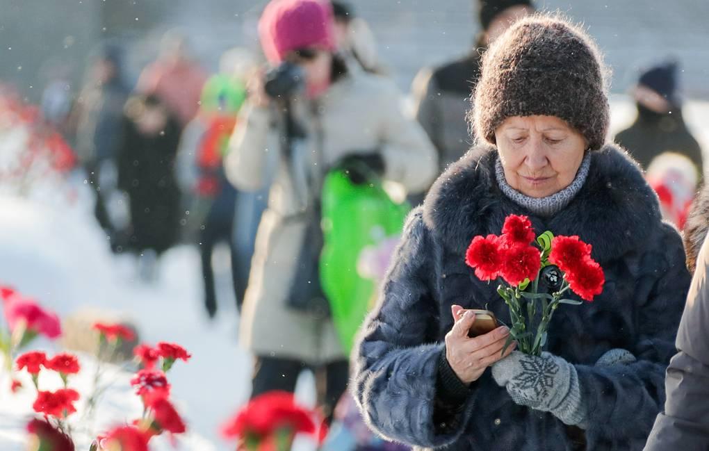 В Петербурге проходят мероприятия, посвященные снятию блокады Ленинграда