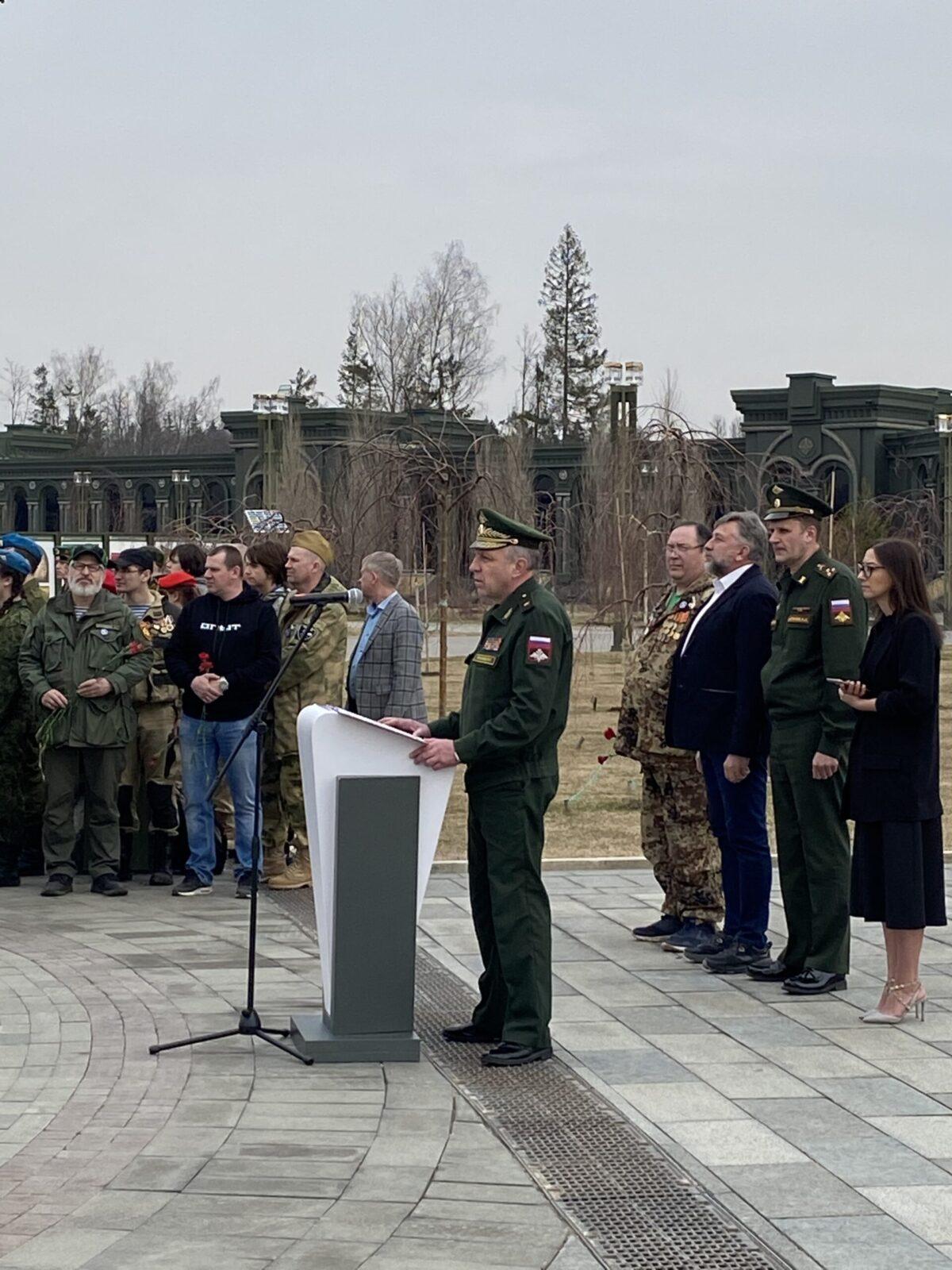 В Подмосковье открыли новый поисковый сезон «ВАХТА ПАМЯТИ – 2021»