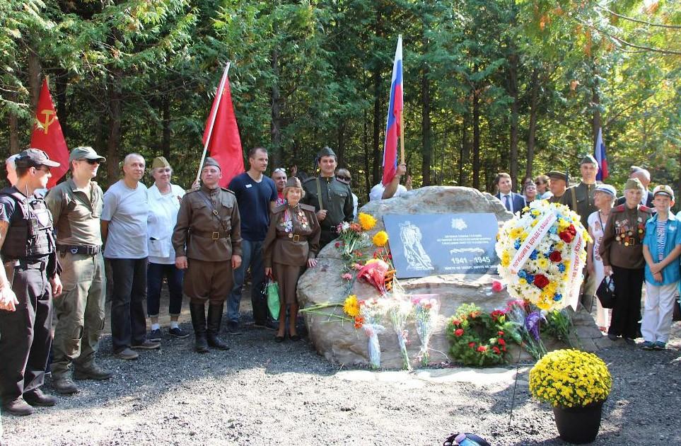 В канадской провинции Онтарио состоялось открытие Мемориала памяти советским воинам-освободителям