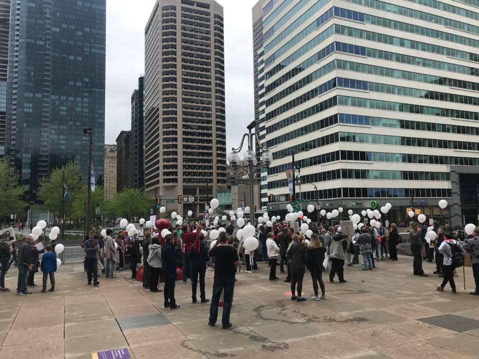 Бессмертный полк в Филадельфии (США), 6 мая 2018 года